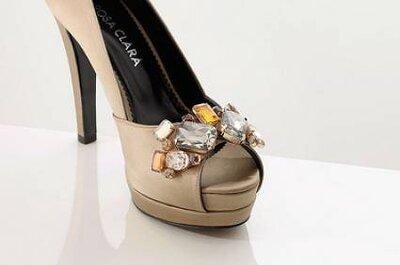 Sapatos para noivas de Rosa Clará 2012
