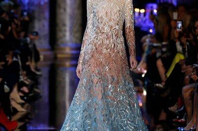 El glamour en su máxima expresión: Elie Saab te robará el aliento con su colección alta costura otoño 2014