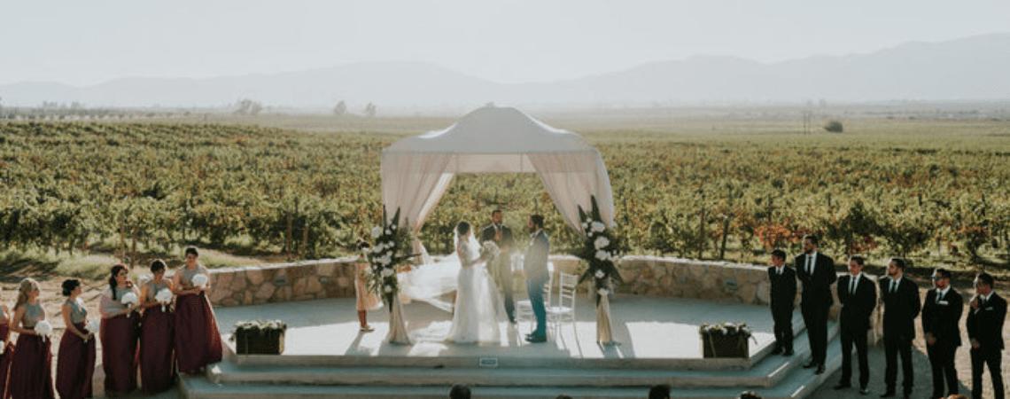 Cómo decorar tu boda al aire libre. 5 consejos clave para impactar