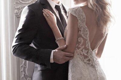 Vestidos de noiva Maggie Sottero 2015: feminilidade e sensualidade para noivas exclusivas