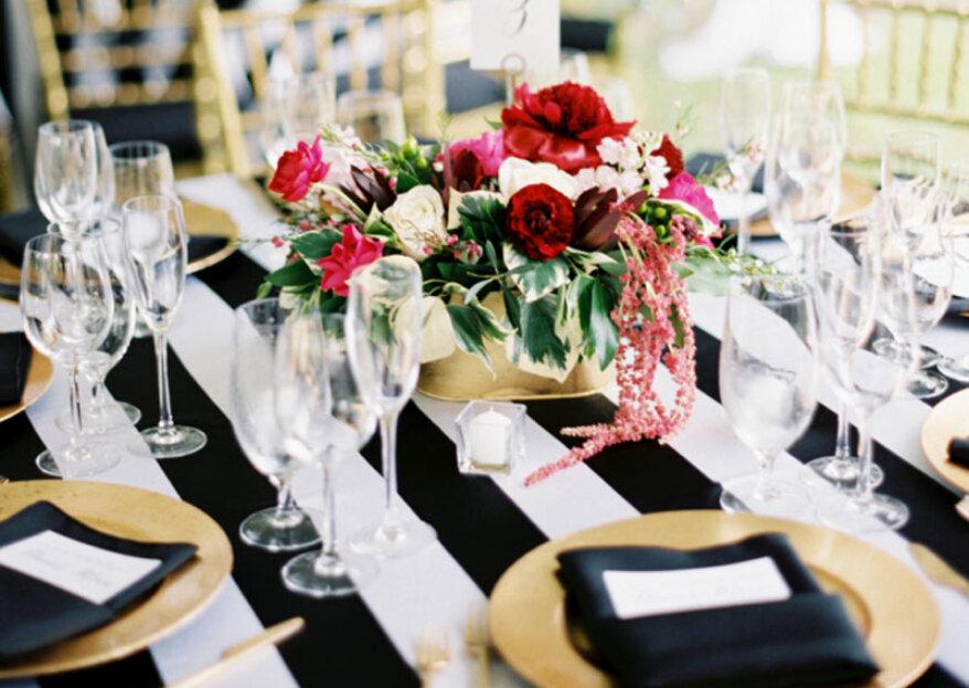¿Cómo elegir la mantelería para el día de tu matrimonio? ¡Un detalle imprescindible para decorar tu mesa!
