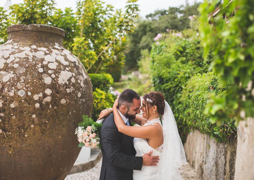 Brinde a sua boda com a natureza, cor e alegria da Quinta dos Rouxinóis.
