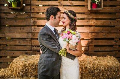 El gran día de Eliana y Sebastián: amor, sol y magia