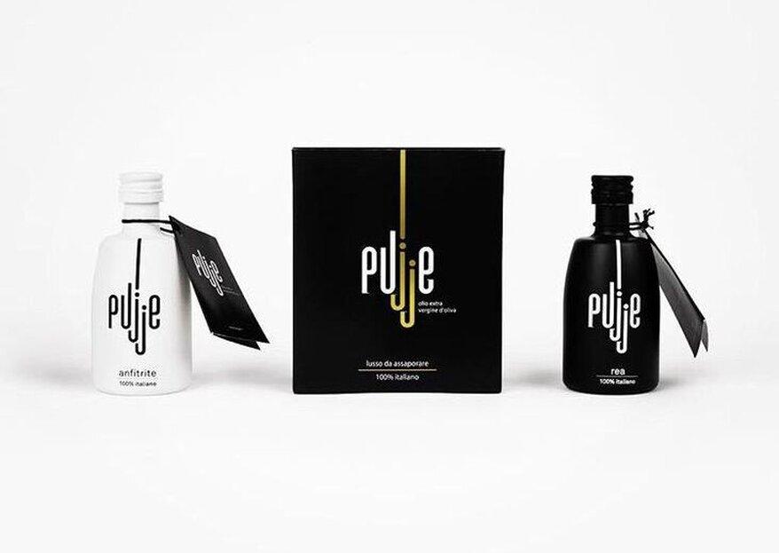 Pujje: l'olio pugliese come bomboniera di nozze con un fine benefico