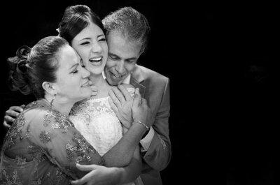 Muito amor envolvido: 6 papéis que seus pais podem desempenhar no seu casamento!