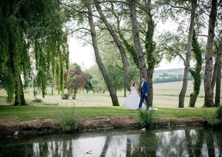 Demeure de caractère et écrin de verdure : le cadre idyllique du Domaine de Brunel