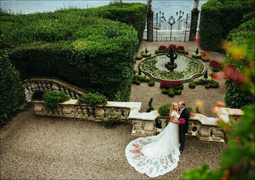 Villa Carlotta, la location ideale per un matrimonio intimo e romantico, all'insegna di arte, storia e natura