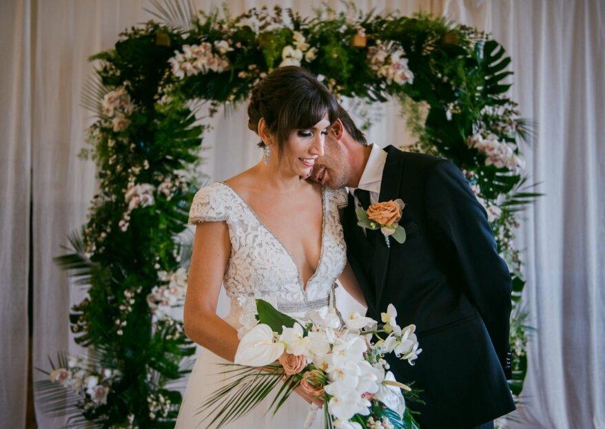 Como en un sueño: la boda de Anne-Sophie y Sven-Mikael