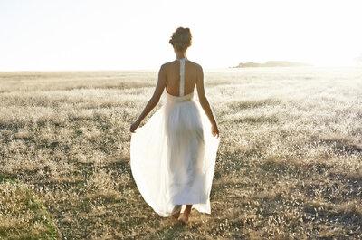 Criações de estilo boémio: morrerás de amor por estes vestidos de noiva!