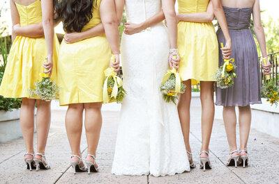 Las mejores ideas para decorar tu boda en color amarillo ¡Te sorprenderán!