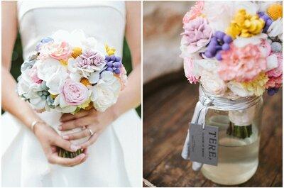 Las mejores tendencias 2016 para elegir el ramo de novia perfecto