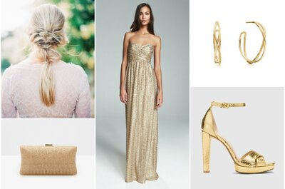 Look da semana: noiva glitter
