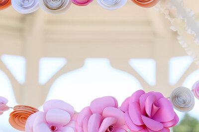 Origami y papel reciclado, dos elementos perfectos para decorar tu boda con estilo japonés