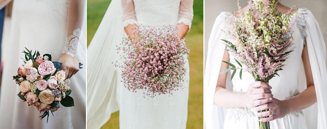 6 bouquet da sposa talmente belli da far impazzire ogni invitata