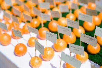 Tutti Frutti! L'allegria colorata della frutta, nelle tue decorazioni nuziali