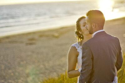 Camille et Mathieu : Le mariage aux couleurs pastel dans le Morbihan de cet amour de jeunesse