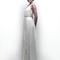 Vestido de novia 2013 con estilo elegante, simple y con cinturón discreto