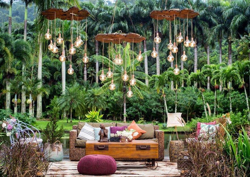 Locais para casamento ao ar livre no Rio de Janeiro: 15 espaços mágicos!