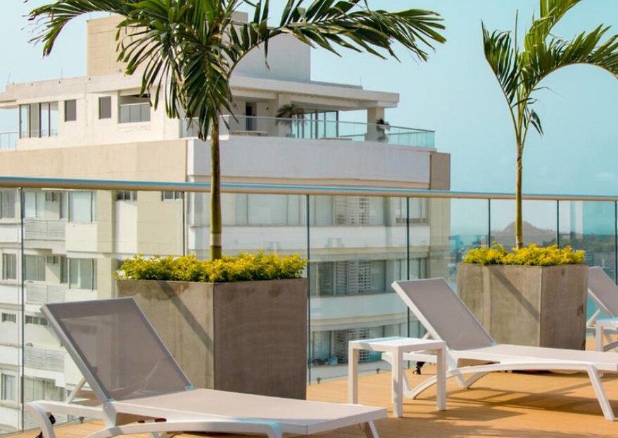 Hilton Garden Inn Santa Marta el lugar ideal para una boda destino en la más bella bahía de Colombia