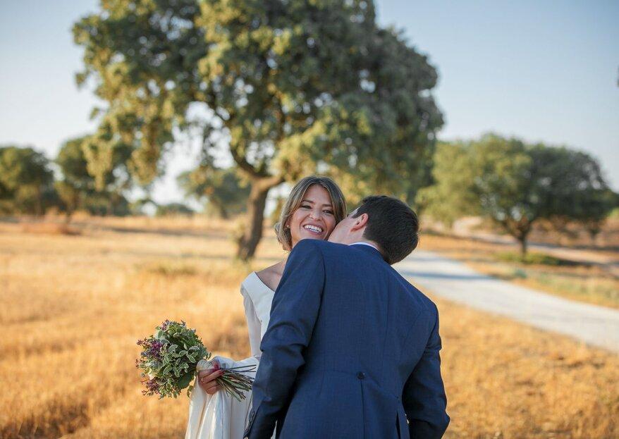 Solo si es contigo: la boda de Natalia y Javier