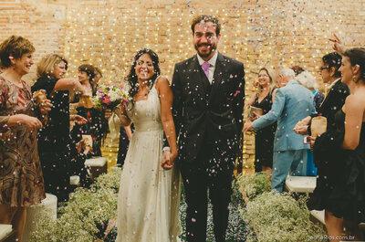 Mini wedding de Gabi & Rafael: muita emoção em cerimônia intimista com a cara dos noivos!