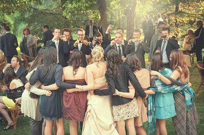 Foto-Spiel auf der Hochzeit – Foto: Lenny Pellico