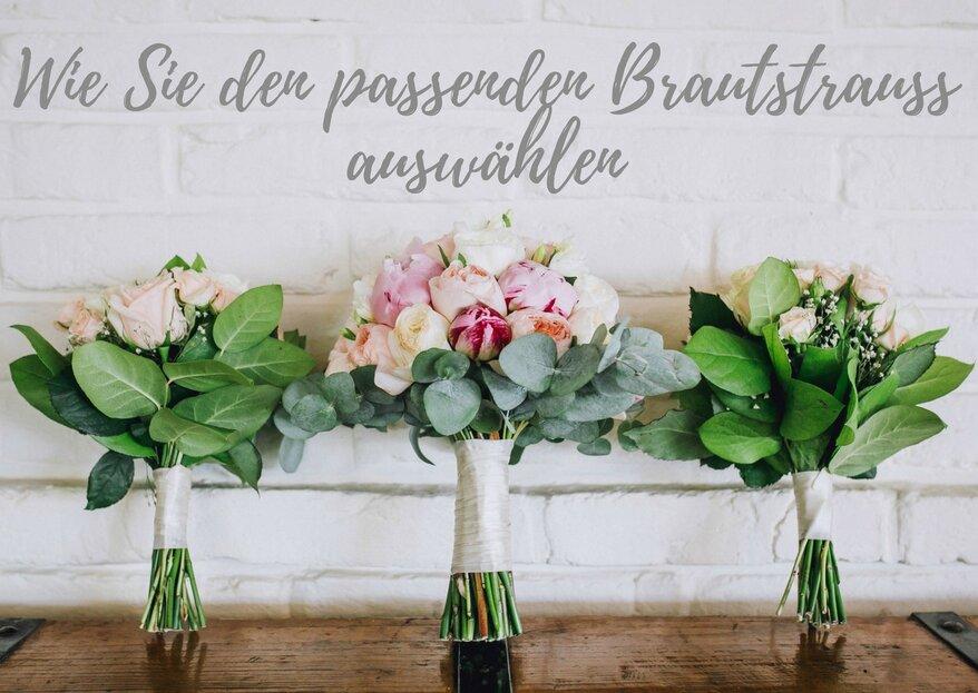 Wie Sie den passenden Brautstrauß finden - Blumen für die Braut in 5 Schritten