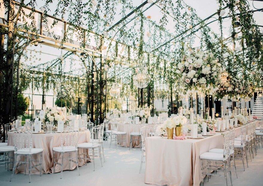 Privitera Allestimenti per Eventi costruirà per le vostre nozze una cornice da sogno in cui dirvi di Sì!