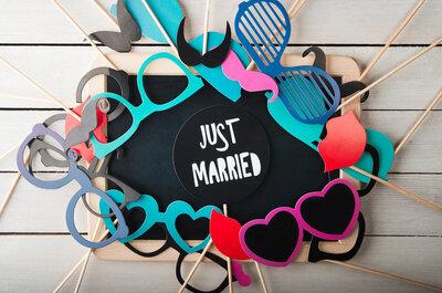 6 motivos para tener una cabina de fotos en tu boda, con Photoclick la diversión es asegurada
