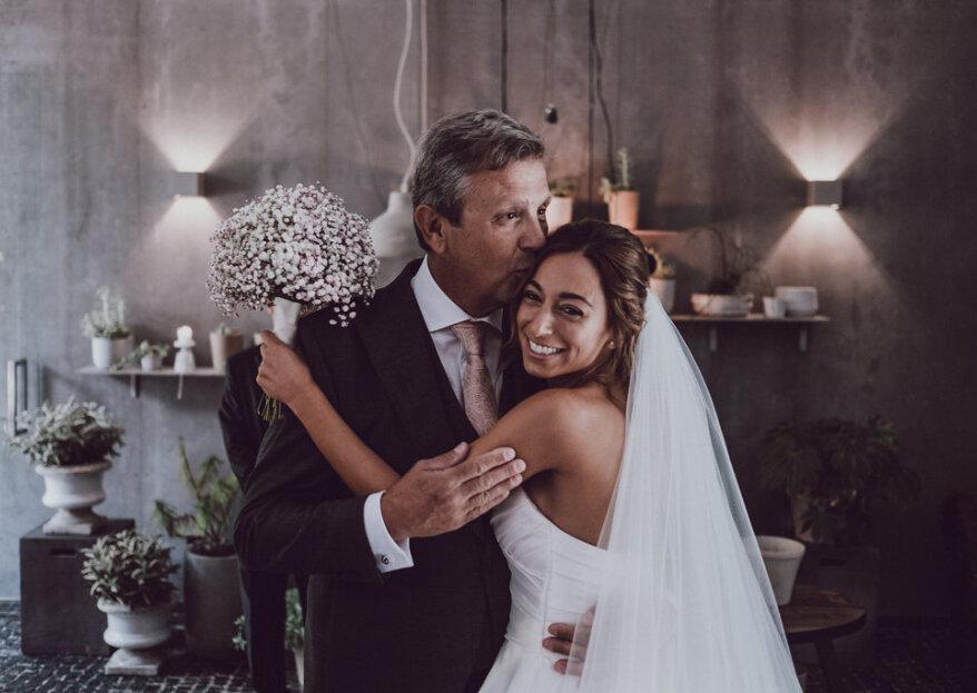 """12 maneiras """"queridas"""" de fazer o seu pai se sentir especial no dia do seu casamento"""