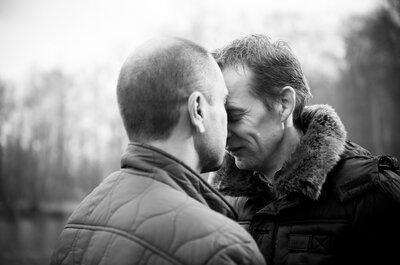 David et Sébastien : un joli mariage qui porte haut les couleurs britanniques