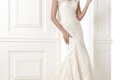 les franges sont partout…Même sur les robes de mariée!