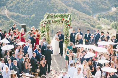 ¿A quién invitar a la boda? 5 preguntas para elaborar la lista de invitados