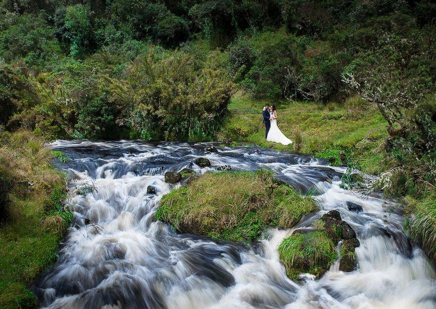 Las espectaculares fotos de boda de Ludwig Santana Fotografía