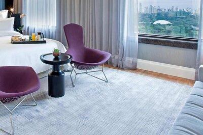 9 Hotéis em São Paulo para seus convidados de casamento: conforto e serviços!