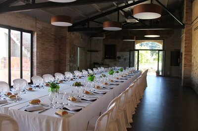 Las 10 mejores masías para celebrar tu boda en Tarragona