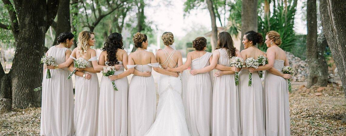 Cómo tener la mejor sesión de fotos con tus damas de boda