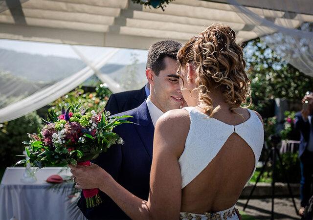 Un cuento que no tiene fin: la boda de Leire y Sergio