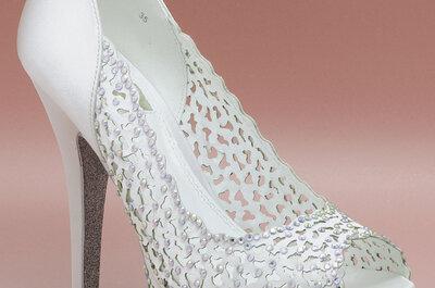 ¿Cuál es el zapato ideal para tu boda? ¡Sé una novia única!