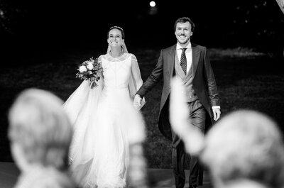 De la amistad al amor: la boda de Andrés y Bárbara