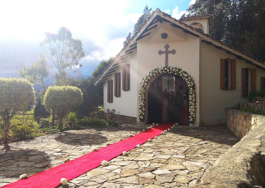 Hacienda Pozo Claro: un jardín que asciende como lugar para tu boda