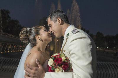 Alicia y Gerard: un amor nacido a través de Internet