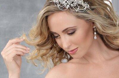 Pulseiras e hand bracelets no look de noiva: tendência linda em acessórios 2017!