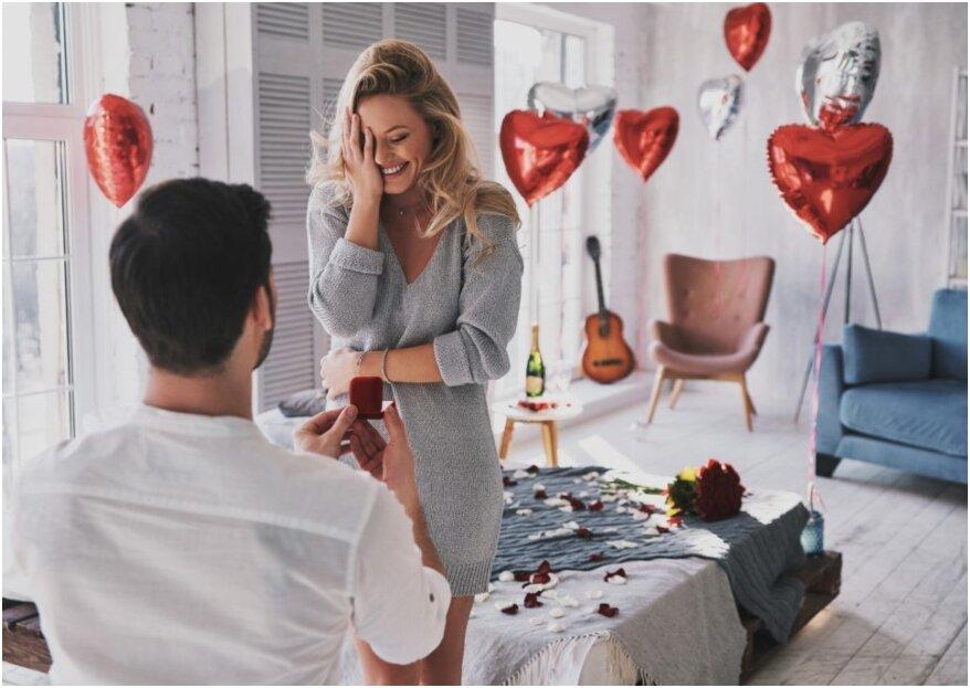 De beste tips en ideeën voor een perfect huwelijksaanzoek!