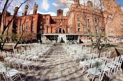 Где отпраздновать свадьбу летом в Москве: 10 чудесных вариантов
