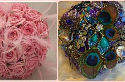 Top bouquets para novias 2014: ¡la tendencia es la libertad!