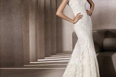 Vestidos de novia corte sirena para la temporada 2012