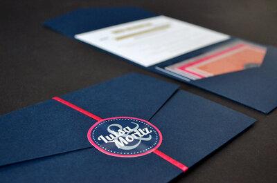Vielseitige Hochzeitseinladungen: Pocket-Fold!