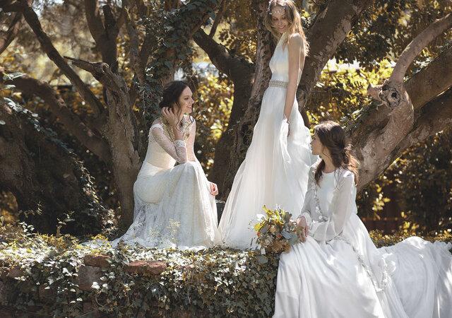 8 vestidos para uma noiva fada