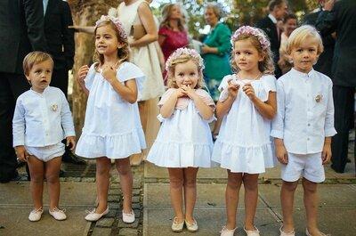 Cómo vestir a los niños en una boda: ¡consejos imprescindibles para los pequeños protas!